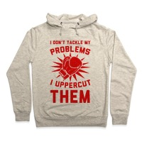 I Don't Tackle My Problems  I Uppercut Them! Baseball Tee | Activate Apparel