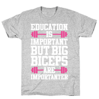 Big Biceps Are Importanter