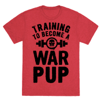 Training to Become a War Pup Tee