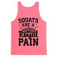 Squats Are A Royal Pain