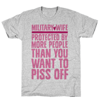 Military Wives Are Well Protected