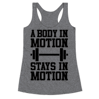 A Body In Motion