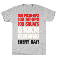 The Strongest Training Regime