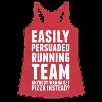 Easily Persuaded Running Team Racerback