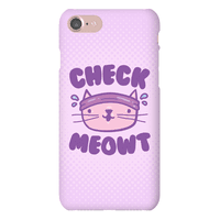 Check Meowt Phonecase