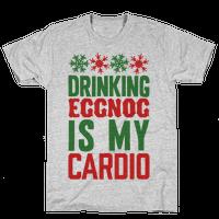 Drinking Eggnog Is My Cardio