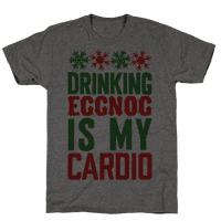 Drinking Eggnog Is My Cardio