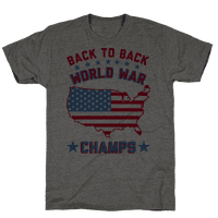 Back to Back World War Champs Tee