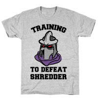 Training To Defeat Shredder
