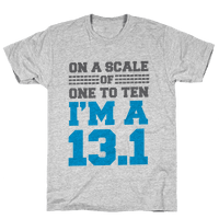 On a Scale of One to Ten I'm a 13.1 (blue)