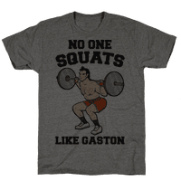 No One Squats Like Gaston Parody