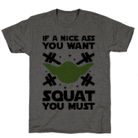 If a Nice Ass You Want, Squat You Must