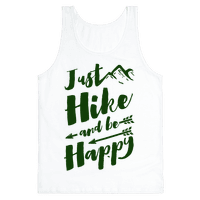 Just Hike and Be Happy Tank