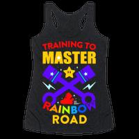 Training To Master Rainbow Road Racerback