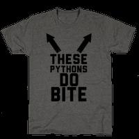 These Pythons Do Bite