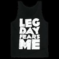 Leg Day Fears Me