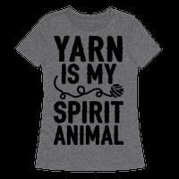 Yarn Is My Spirit Animal Tee