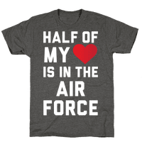 Half My Heart Is In The Air Force (Air Force Tank)