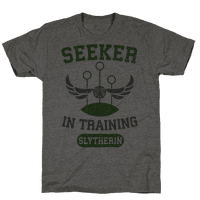 Seeker In Training (Slytherin) Tee