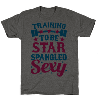 Training To Be Star Spangled Sexy