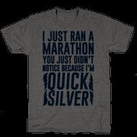 I Just Ran A Marathon Tee
