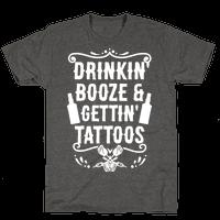 Drinkin' Booze and Gettin' Tattoos