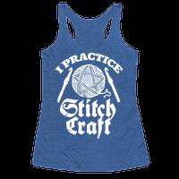 I Practice Stitchcraft Racerback