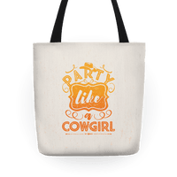 Party Like A Cowgirl Tote
