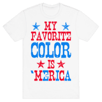 My Favorite Color is 'Merica! (Patriotic Sweatshirt)