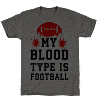My Blood Type is Football