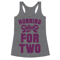 Running for Two Racerback