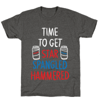 Star Spangled Hammered Tee