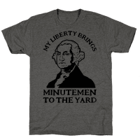 My Liberty Brings Minutemen to the Yard
