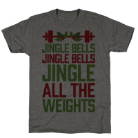 Jingle Bells, Jingle Bells, Jingle All The Weights