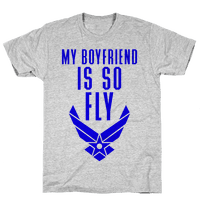 My Boyfriend Is So Fly (Air Force Tank)