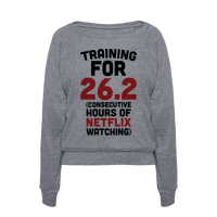 Training for 26.2 (Consecutive Hours Of Netflix Watching) Pullover