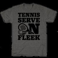 Tennis Serve On Fleek