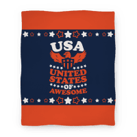 United States of Awesome (Blanket)