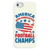 America: 49th Consecutive Football Champs Phonecase