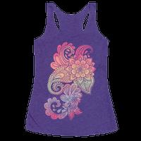 Rainbow Lotus Henna Inspiration