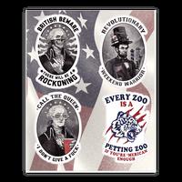 Rebel Presidents Sticker