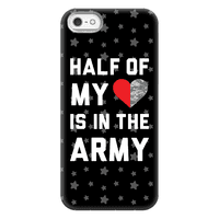 Half My Heart Is In The Army Phonecase