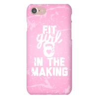 Fit Girl In The Making Phonecase