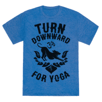 Turn Downward For Yoga Tee