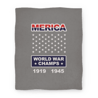Merica World War Champs (Blanket)