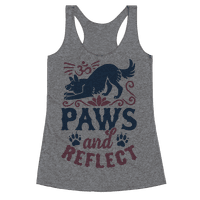 Paws And Reflect (Dog) Racerback