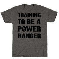 Training To Be A Power Ranger Parody