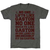 No One Lifts Like Gaston Parody