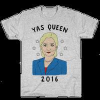 Yas Queen Hillary Clinton 2016
