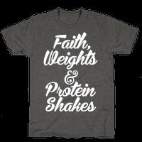 Faith, Weights & Protein Shakes